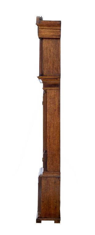 Eichen Standuhr James Sandiford aus Manchester, aus dem 18. Jahrhundert 3