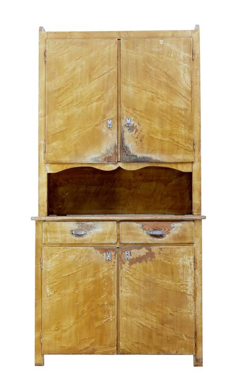 how to paint a kitchen cabinet 1930s swedish pine distressed painted kitchen cupboard for 8786