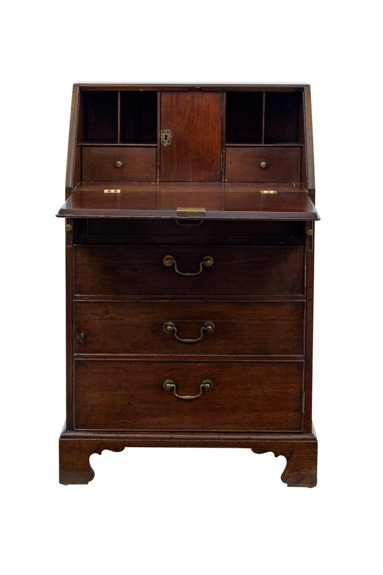 18th century georgian oak bureau for sale at 1stdibs for Bureau for sale