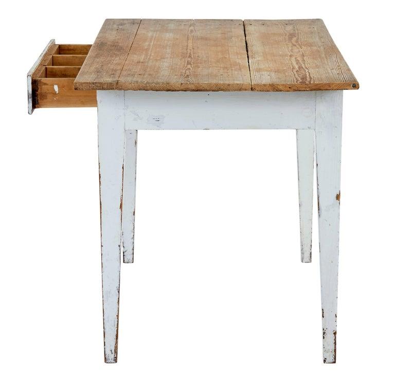 Best Kitchen Jamestown Ny: 19th Century Swedish Pine Kitchen Table For Sale At 1stdibs
