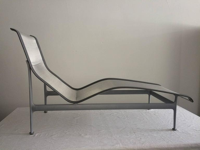Pair Of Richard Schultz Four Leg Contour Lounge Chairs For