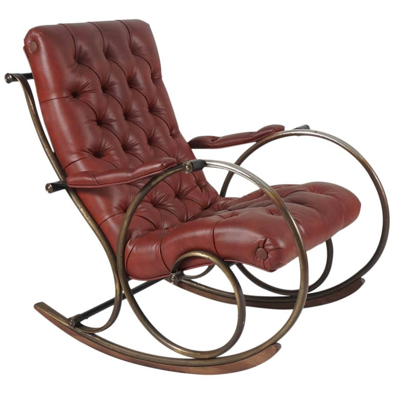 Midcentury Lee Woodard Rocker, Rocking Chair