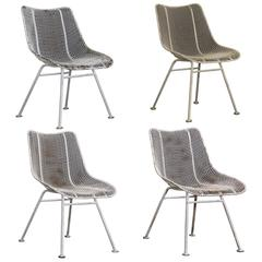 "Russell Woodard ""Sculptura"" Dining Chairs"