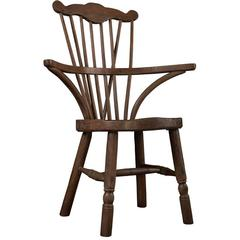 Ash Comb Back Windsor Chair, circa 1760