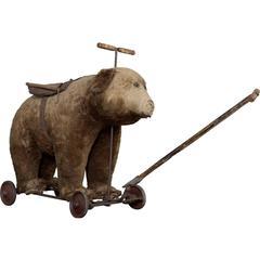 Victorian Toy Bear, circa 1900