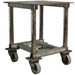 Mathieu Mategot Perforated Metal Tray Table Circa 1950