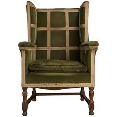 Arts & Crafts Wing Armchair