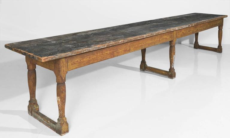 Turned Leg Dining Table International Concepts K T36x 3  : TABLE90032l from honansantiques.com size 768 x 461 jpeg 28kB