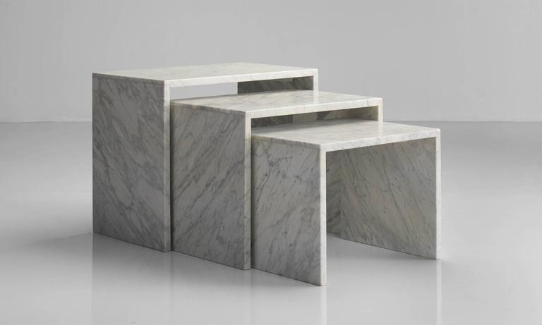 Set Of Marble Nesting Tables 2