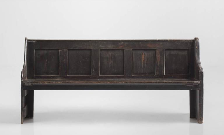 Sensational Herefordshire Chapel Church Pew Circa 1870 At 1Stdibs Andrewgaddart Wooden Chair Designs For Living Room Andrewgaddartcom