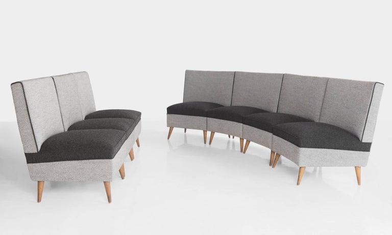 Italian Modern Sectional Sofa, circa 1960 For Sale