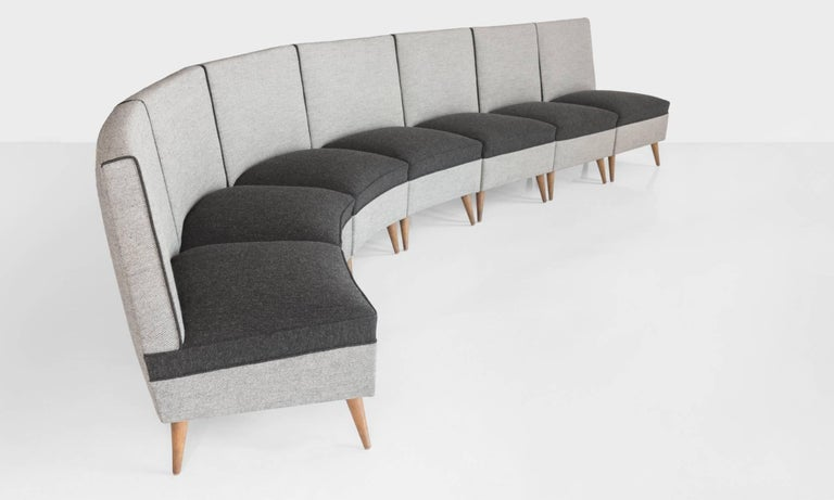 Modern Sectional Sofa, circa 1960 6