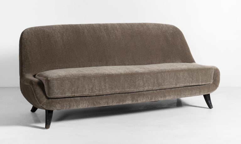 Modern sofa, circa 1960.