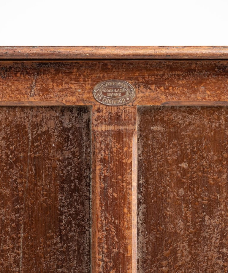 Early 20th Century Boulton & Paul Egg Cupboard, circa 1900 For Sale