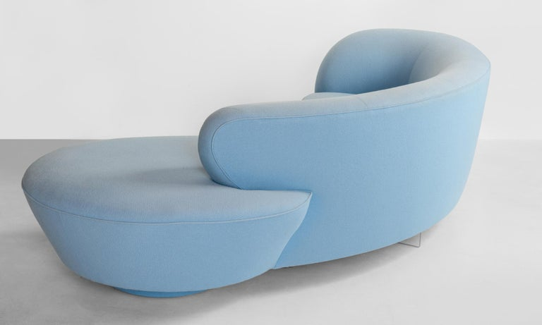 Late 20th Century Serpentine Sofa by Vladimir Kagan, circa 1970 For Sale