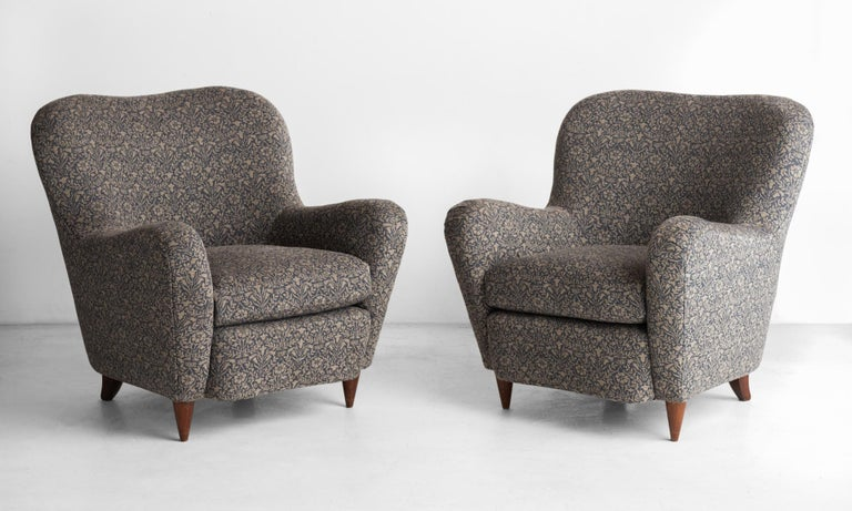 Armchairs by Luigi Saita, circa 1955