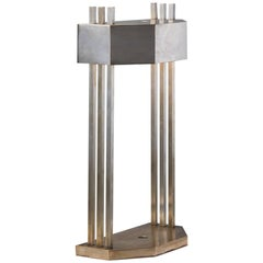 Marcel Breuer Desk Lamp in Brass-Plated Nickel, circa 1925