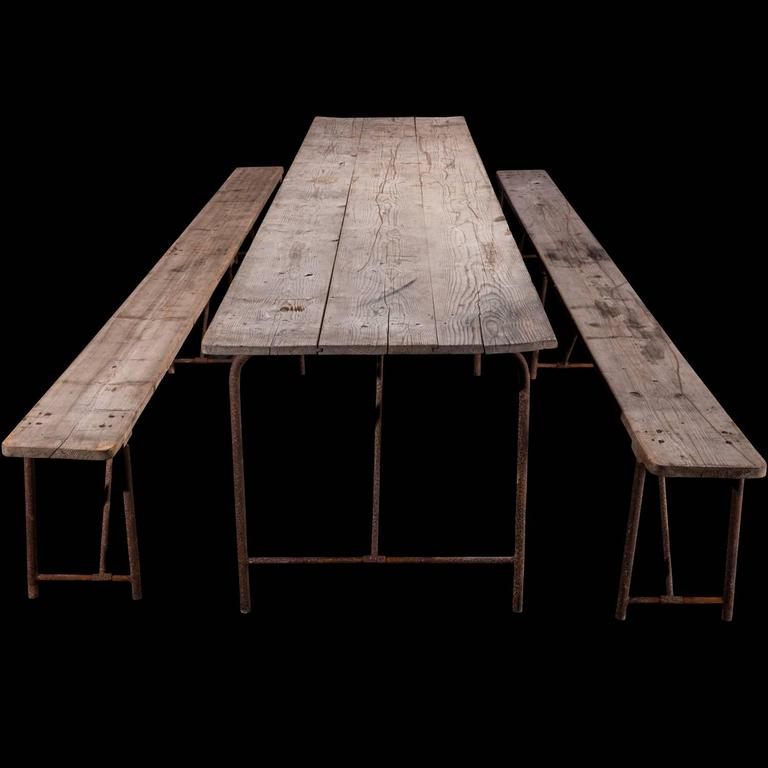 Massive Pine Dining Table At 1stdibs