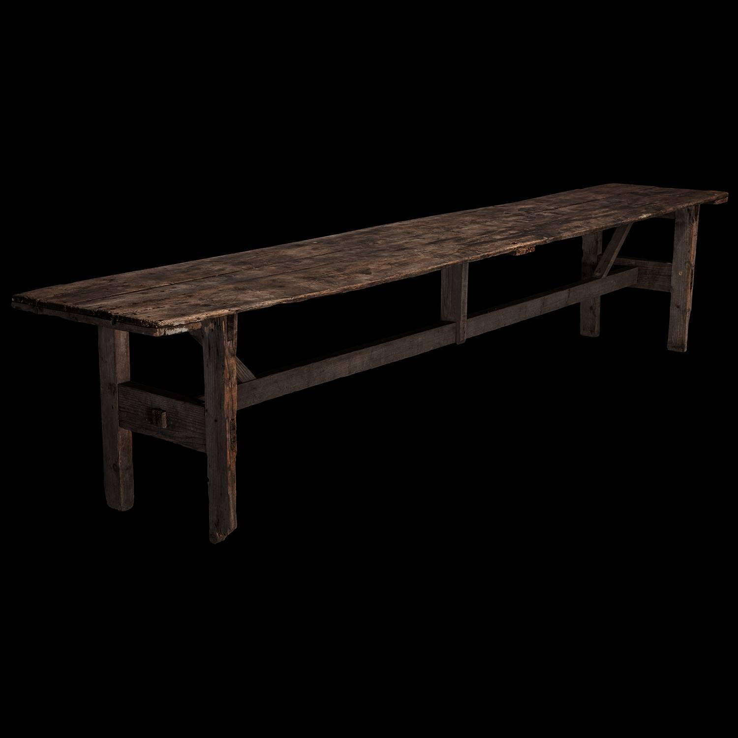 Primitive Italian Dining Table For Sale At 1stdibs