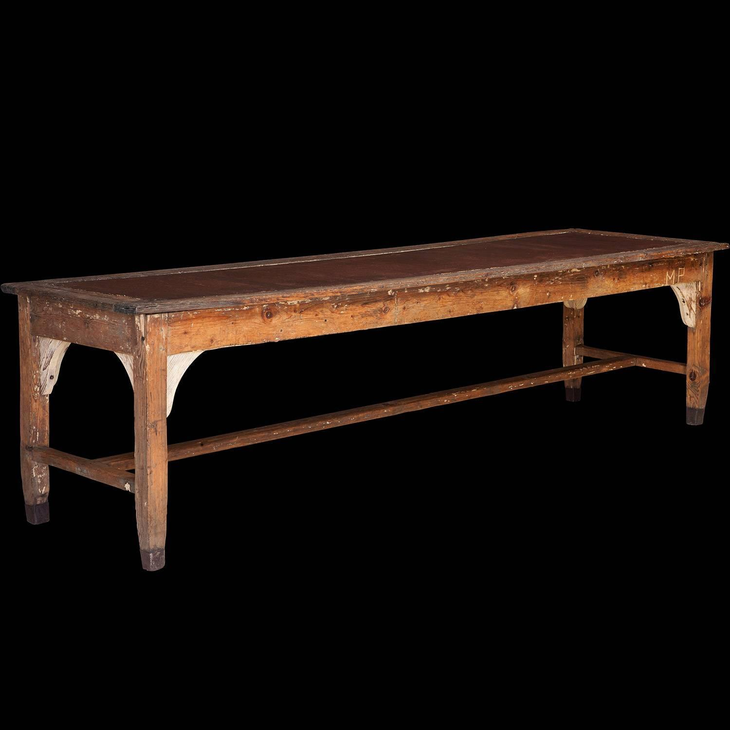 Metal Top Dining Table : Metal Top Dining Table For Sale at 1stdibs