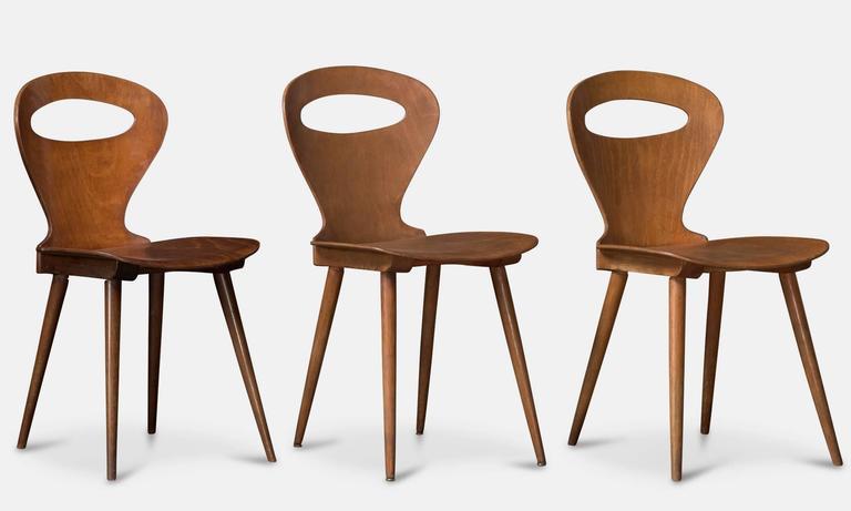 Baumann Bentwood Chairs at 1stdibs