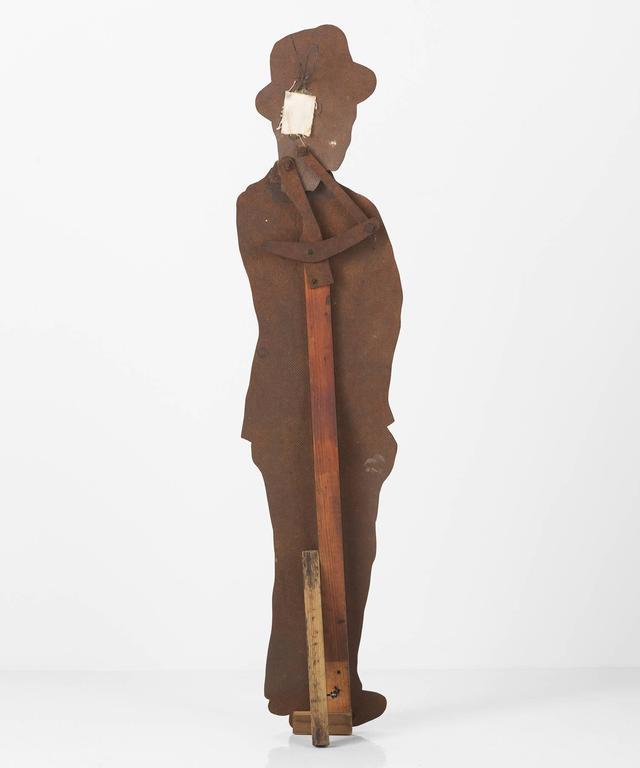 American Figural Gentleman Trade Sign For Sale