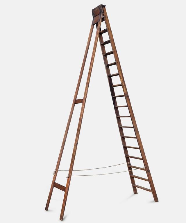 English Victorian Workman's Ladder