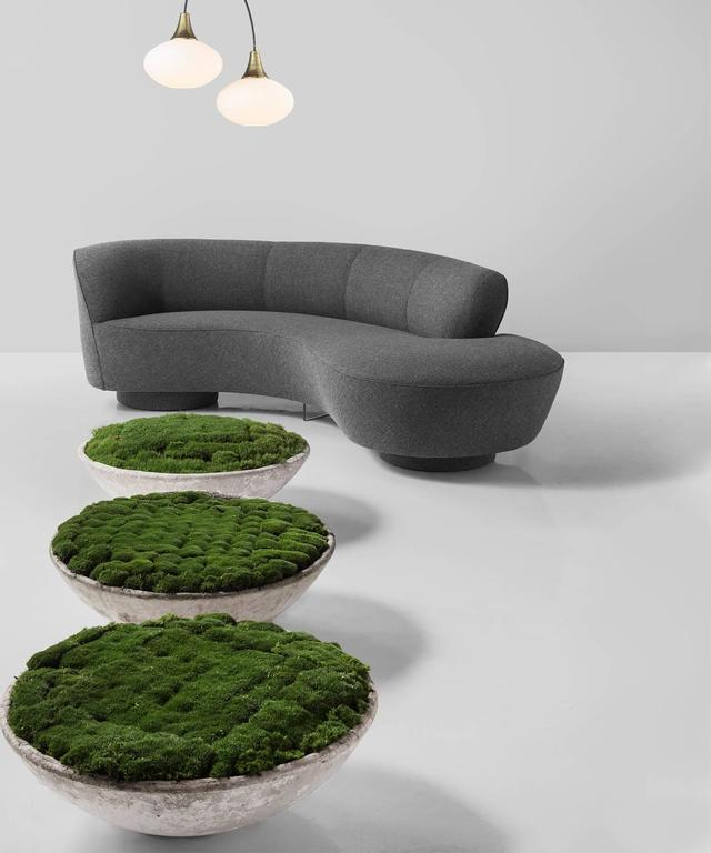 Serpentine Sofa by Vladimir Kagan, circa 1970 7