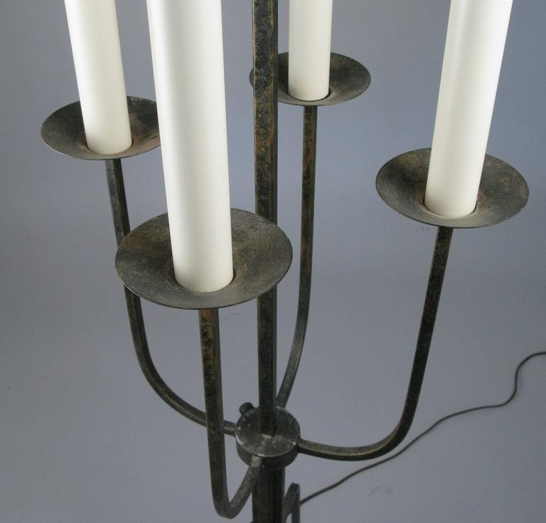 Mid-20th Century 1940's Modern Floor Lamp by Tommi Parzinger For Sale