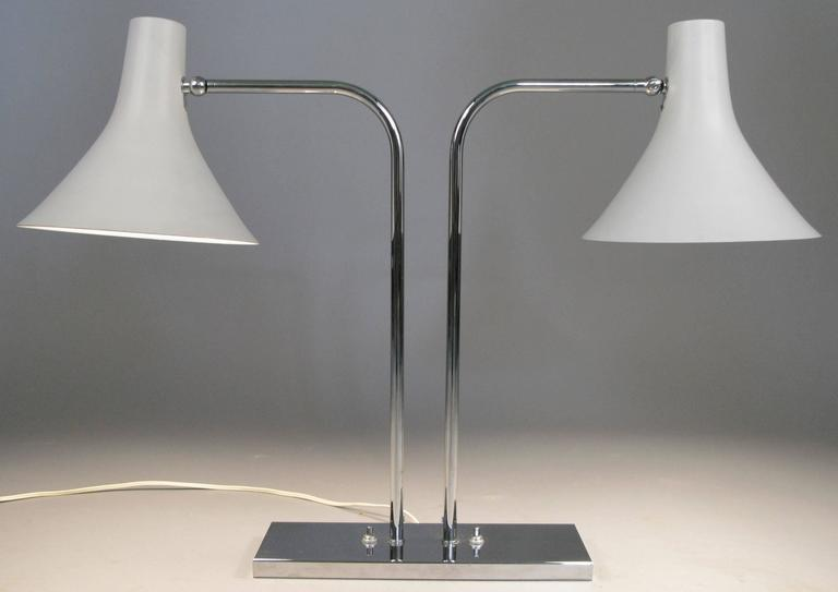 A Very Nice Example Of This Versatile Mid Century Modern Table Or Desk Lamp  By