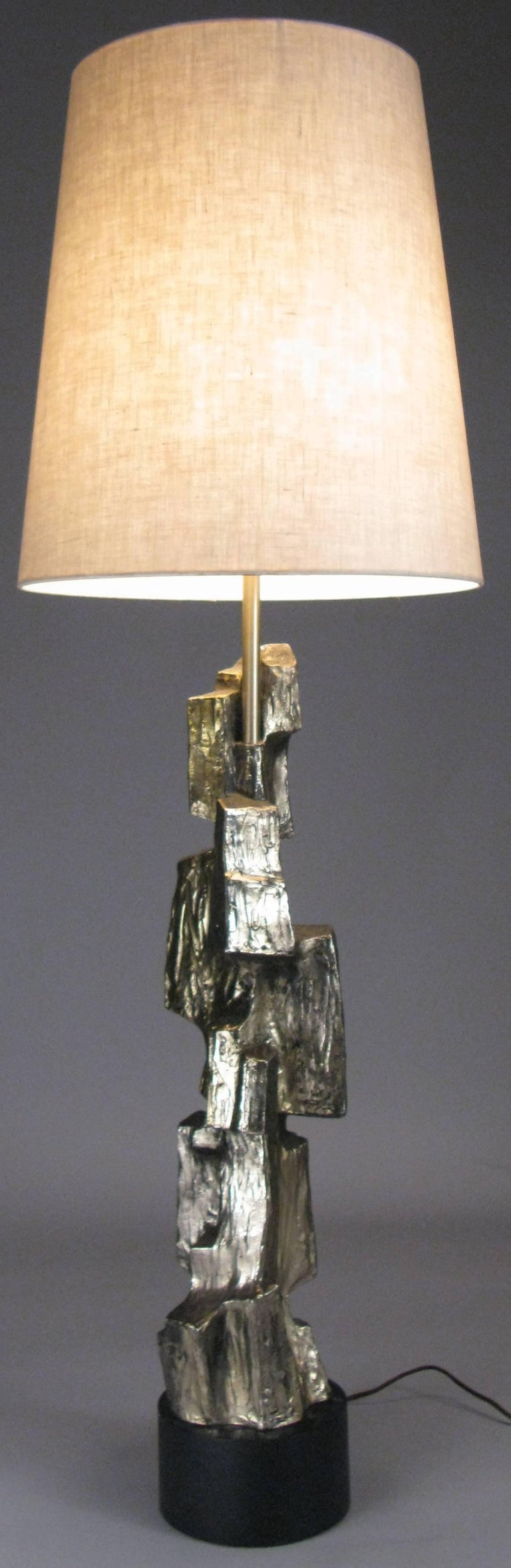 Sculptural 1970s bronze lamp for sale at 1stdibs for Iconic design lamps