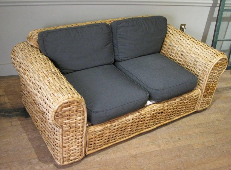 Woven Rattan Sofa By Ralph Lauren At 1stdibs