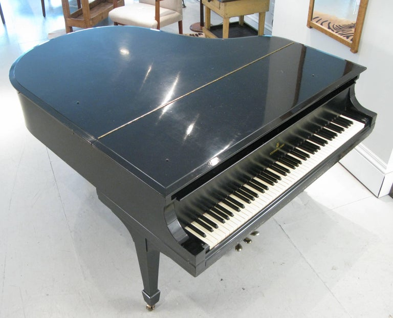 Steinway & Sons 1912 Model M Ebony Piano For Sale 5