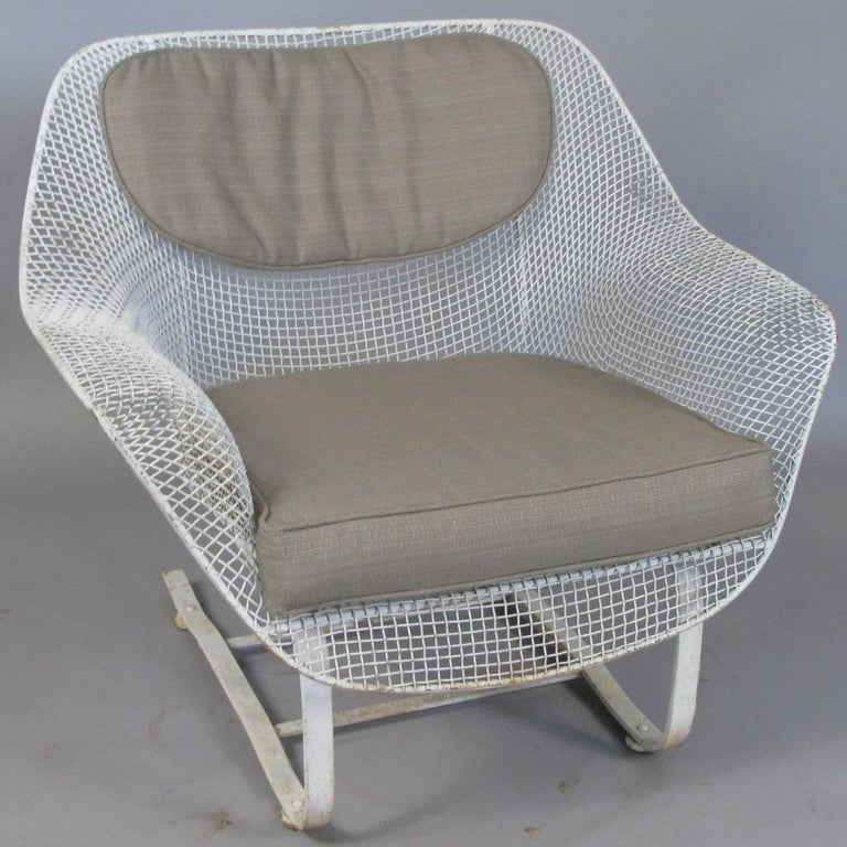 Mid-Century Modern 1950s Russell Woodard 'Sculptura' Sofa and Pair of Lounge Chairs For Sale