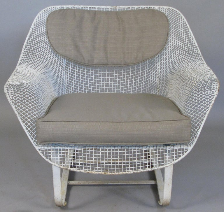 Mid-20th Century 1950s Russell Woodard 'Sculptura' Sofa and Pair of Lounge Chairs For Sale