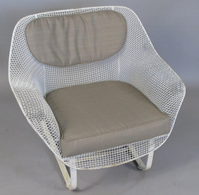 1950s Russell Woodard 'Sculptura' Sofa and Pair of Lounge Chairs For Sale 1