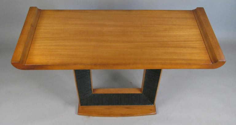 Paul Frankl, 1940s Console Table In Good Condition For Sale In Hudson, NY