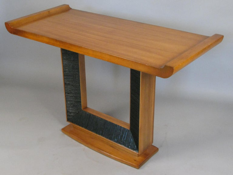Paul Frankl, 1940s Console Table For Sale 1