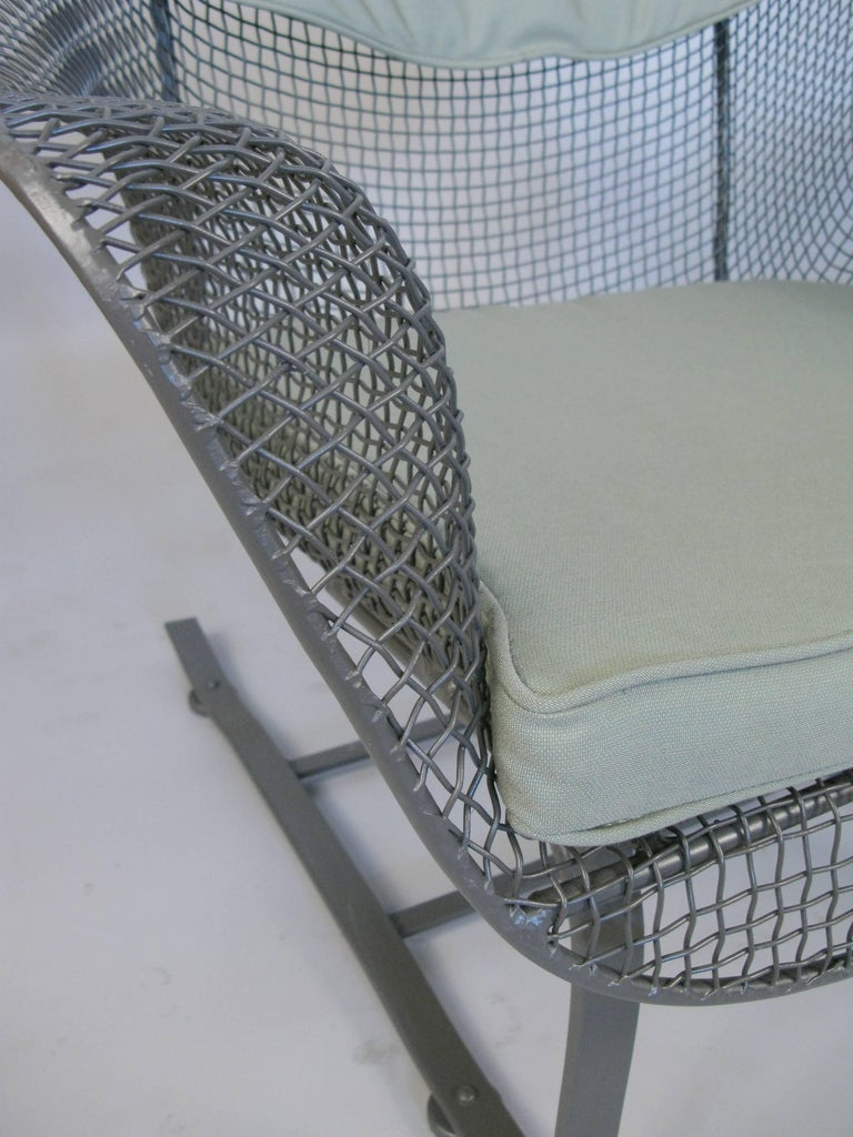 Mid-Century Modern Pair of Russell Woodard 1950s Sculptura Lounge Chairs For Sale