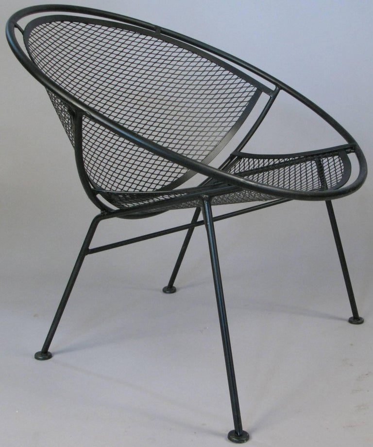 American Pair of Salterini 'Radar' Collection Lounge Chairs by Tempestini For Sale