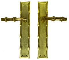 12 Maison Baguès Door Handles. 12 Pairs available. Priced by pair.