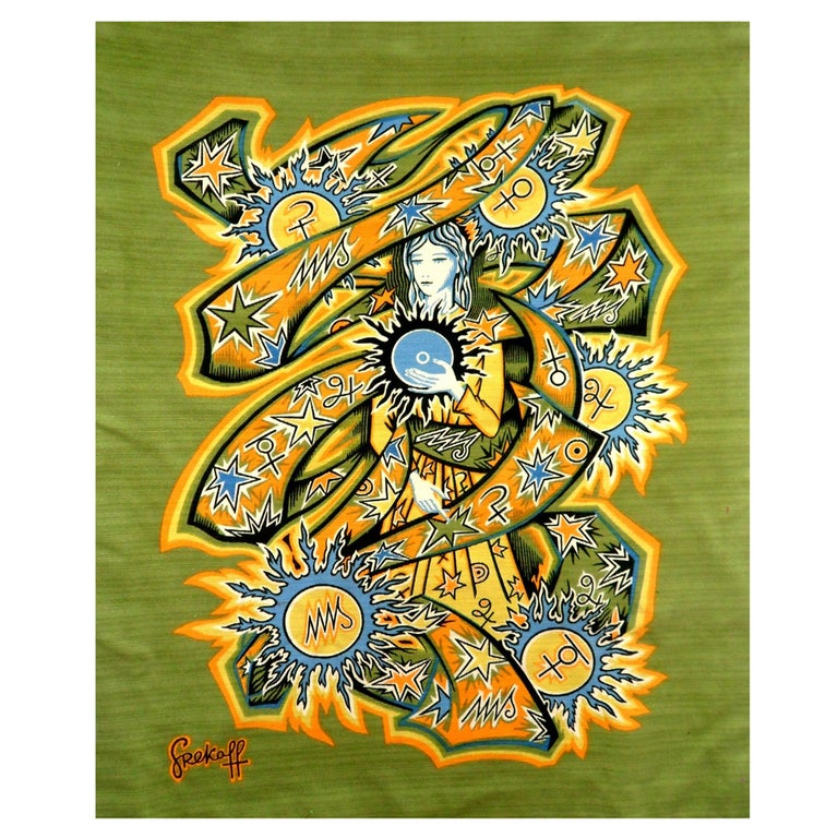 Elie Grekoff Tapestry For Sale