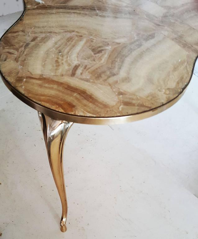 Late 20th Century Willy Daro Style Coffee Table For Sale