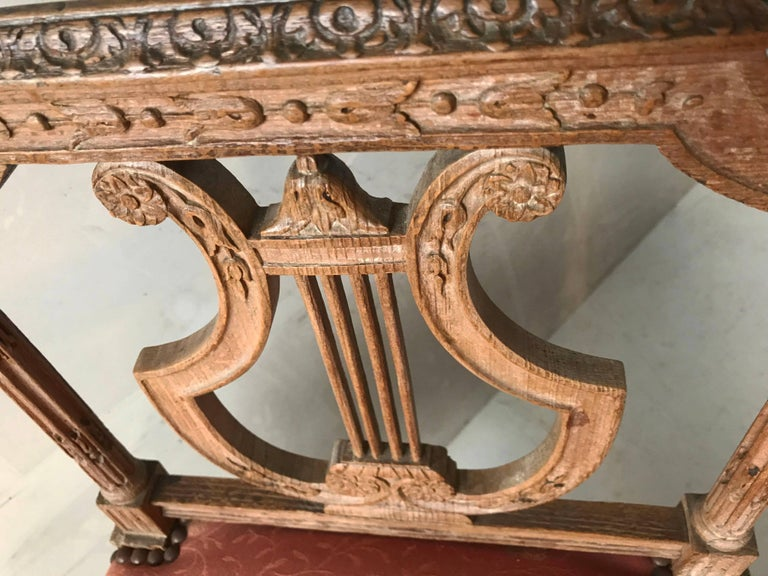 Early 20th Century Louis XVI Style Bench For Sale