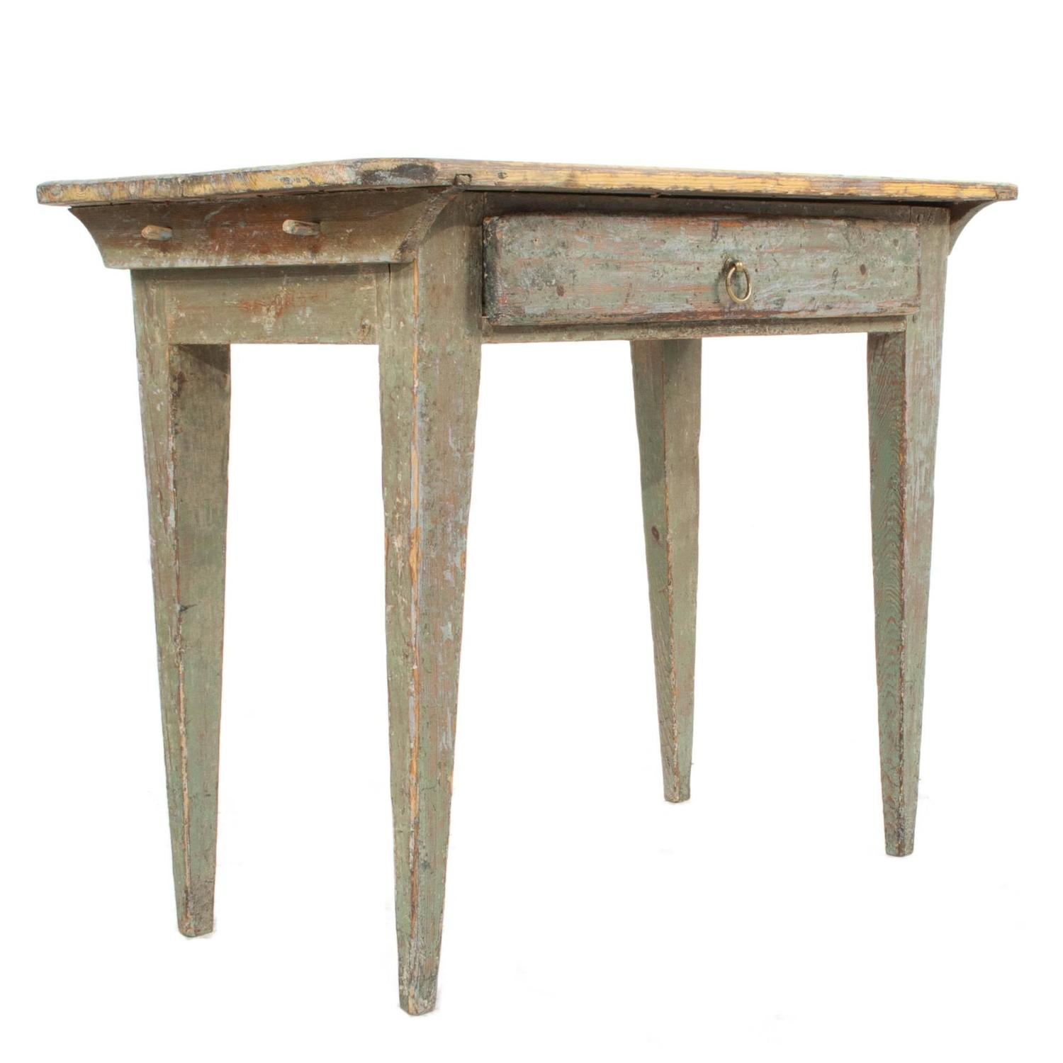Gustavian side table for sale at 1stdibs for Oka gustavian side table