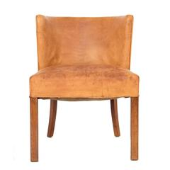 Leather Chair by Fritz Hansen