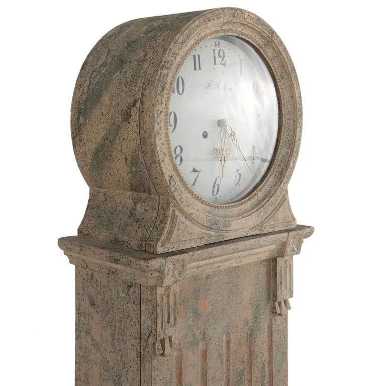 Gustavian Grandfather Clock 3