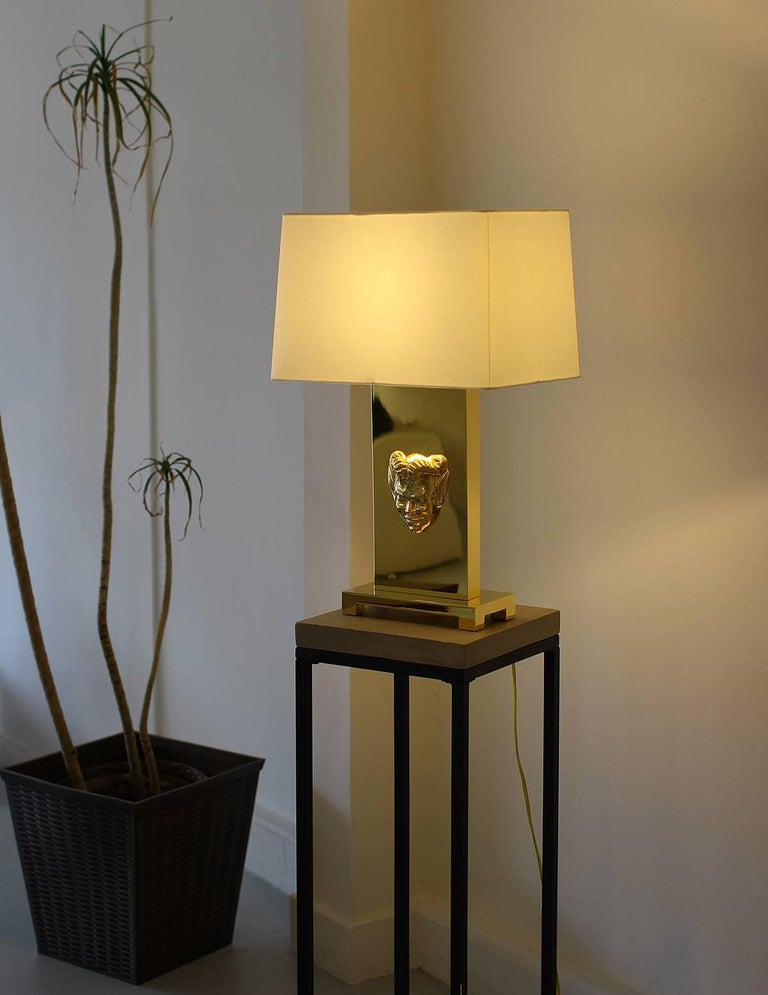 Philip Neri Pair of Gilt Bronze Table Lamps  For Sale 2