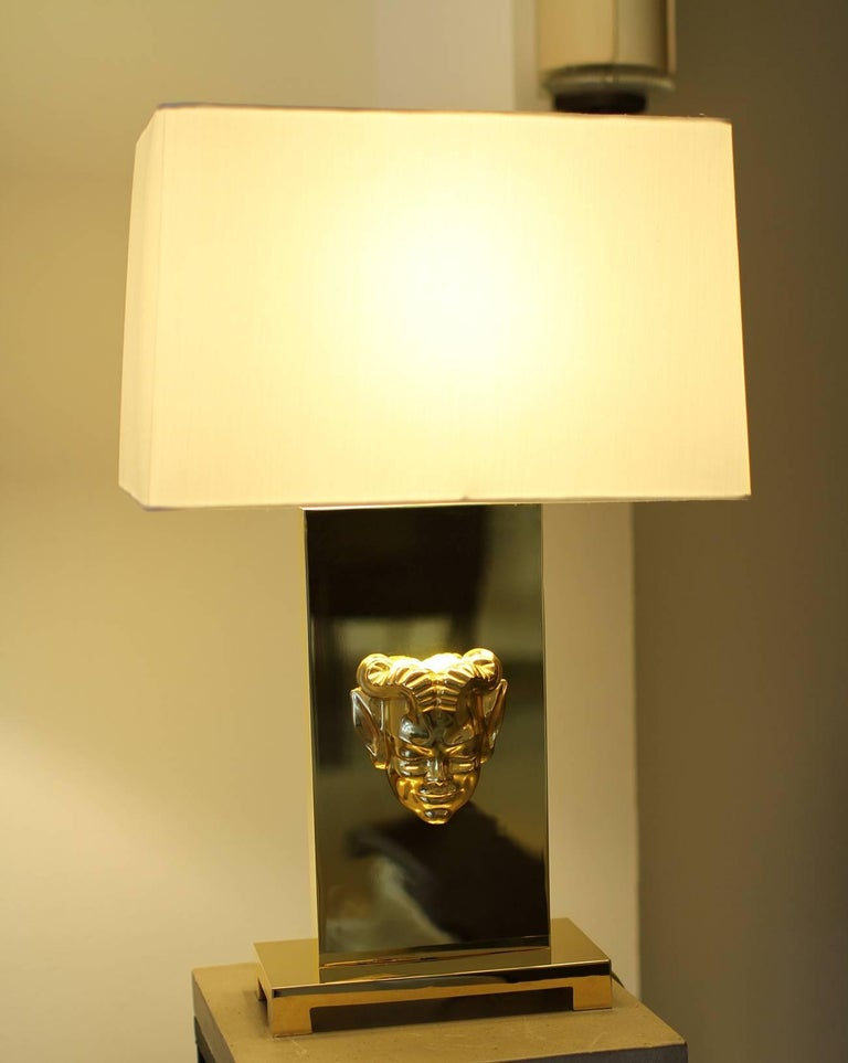 American Philip Neri Pair of Gilt Bronze Table Lamps  For Sale
