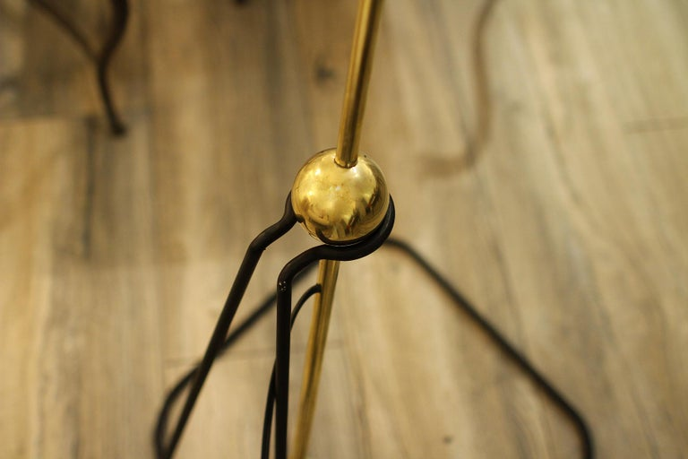 Late 20th Century Rare Floor Lamp, Model of Pierre Guariche, 1970 For Sale
